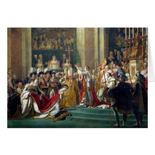 Napoleon's Consecration and Josephine's Greeting Card