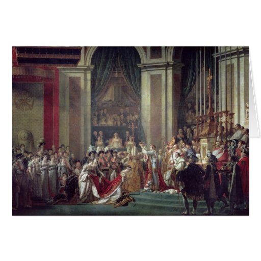 Napoleon's Consecration and Josephine's Cards