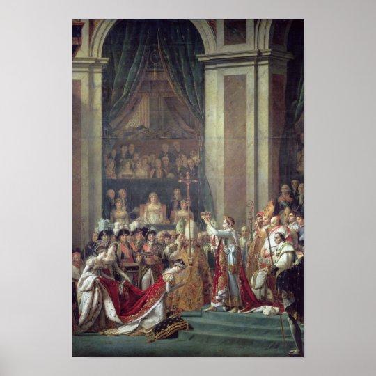 Napoleon's Consecration and Josephine's Poster