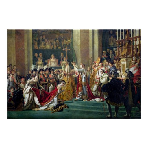 Napoleon's Consecration and Josephine's Poster