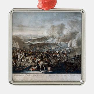 Napoleon's flight from the Battle of Waterloo Metal Ornament