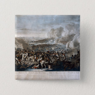 Napoleon's flight from the Battle of Waterloo Pinback Button