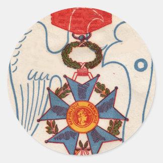 Napoleon's Legion D' Honneur medal stickers