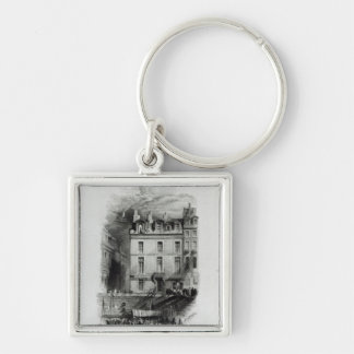 Napoleon's Lodgings on the Quai Conti, 1834-36 Keychain