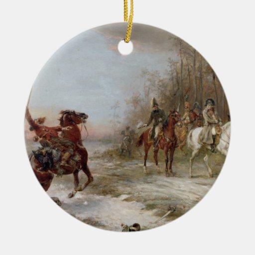 Napoleon's Peril at Brienne-le-Chateau, c.1891 (oi Ornament