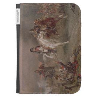 Napoleon's Retreat (oil on canvas) Kindle Cover