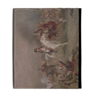 Napoleon's Retreat (oil on canvas) iPad Folio Cover