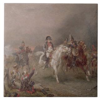 Napoleon's Retreat (oil on canvas) Ceramic Tile