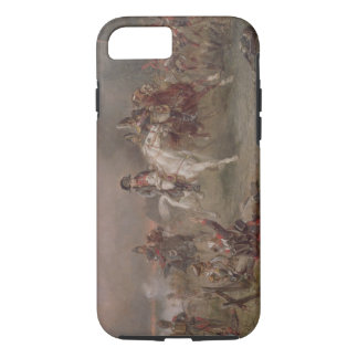 Napoleon's Retreat (oil on canvas) iPhone 8/7 Case