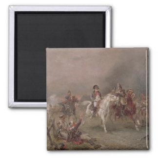 Napoleon's Retreat (oil on canvas) Magnet