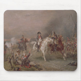 Napoleon's Retreat (oil on canvas) Mouse Pad
