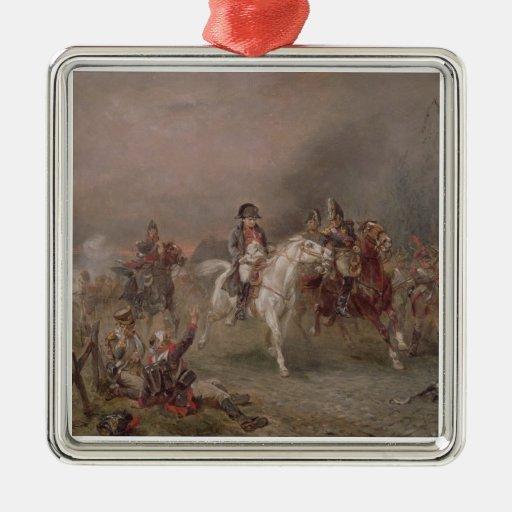 Napoleon's Retreat (oil on canvas) Christmas Ornament