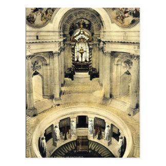 Napoleon's tomb, Paris, France classic Photochrom Postcard