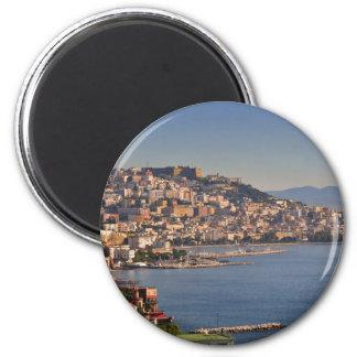 Nápoles Imán Redondo 5 Cm