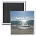 Nápoles, la Florida Imán Cuadrado