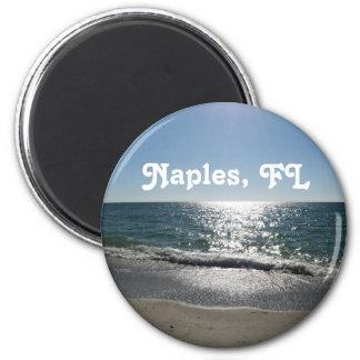 Nápoles, la Florida Imán Redondo 5 Cm