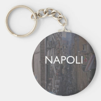 Nápoles Llavero Redondo Tipo Pin