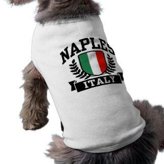Nápoles Playera Sin Mangas Para Perro