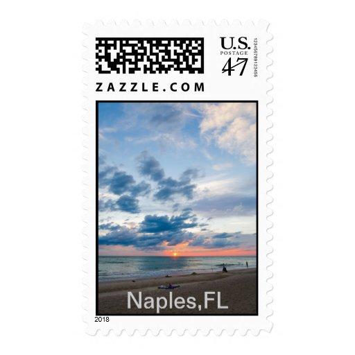 Nápoles, sellos de FL