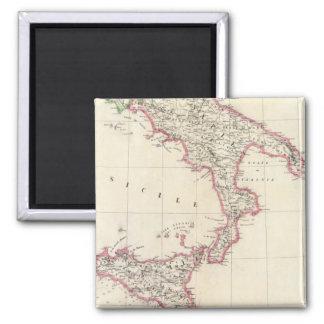 Nápoles y Sicilia 26 Imán Cuadrado