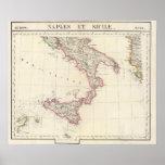 Nápoles y Sicilia 26 Póster