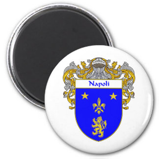 Napoli Coat of Arms (Mantled) Magnet
