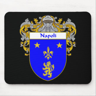 Napoli Coat of Arms (Mantled) Mouse Pad