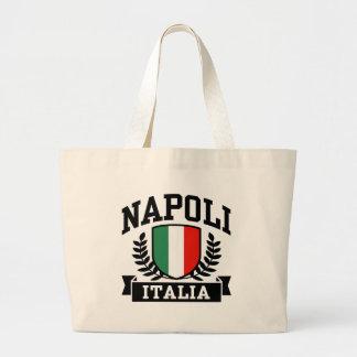 Napoli Italia Bolsa Tela Grande