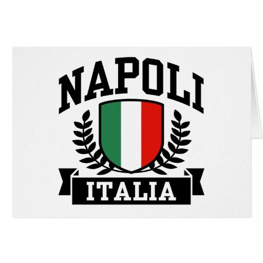 Napoli Italia Greeting Card