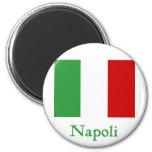 Napoli Italian Flag Fridge Magnets