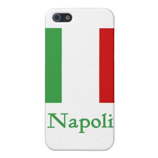 Napoli Italian Flag iPhone 5 Cover
