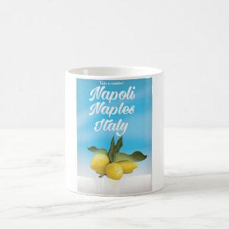Napoli, Naples, Italy Lemons vintage travel poster Coffee Mug