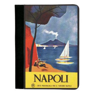 Napoli Naples Italy vintage travel padfolio
