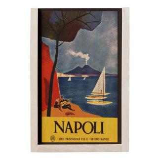 Napoli Naples Italy wooden keepsake box
