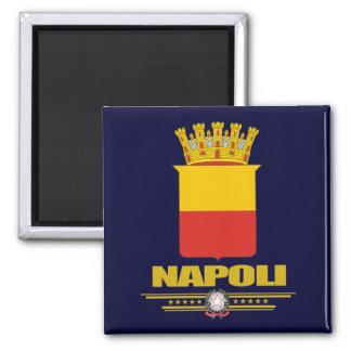 Napoli (Nápoles) Imán Cuadrado