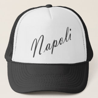 napoli trucker hat