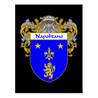 Napolitano Coat of Arms (Mantled) Postcard