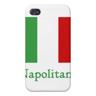 Napolitano Italian Flag Cover For iPhone 4