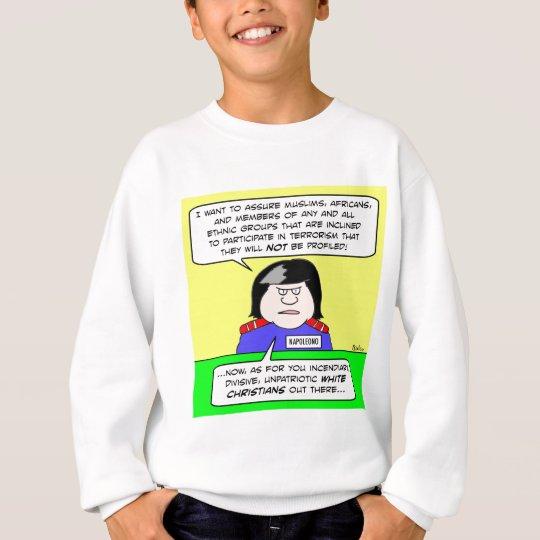 napolitano napoleono white christians sweatshirt