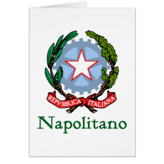 Napolitano Republic of Italy Card