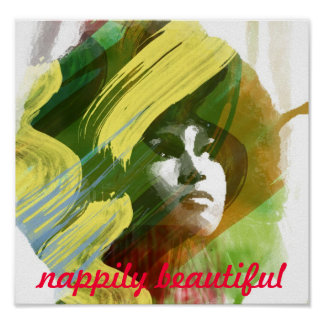 Nappily hermoso - poster