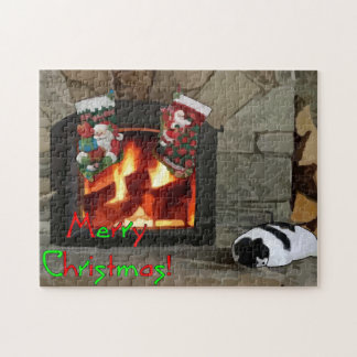 Napping by the Fireplace Puzzles