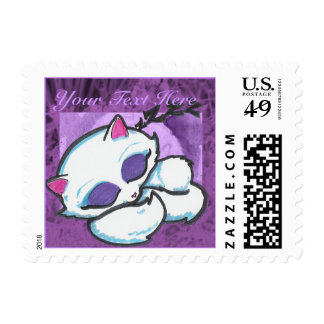 Napping Cat Postage