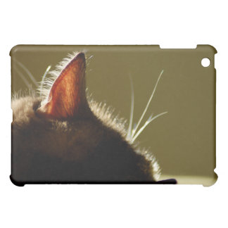 Napping Cat Silhouette iPad Cover