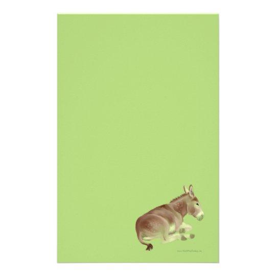 Napping Donkey Stationery