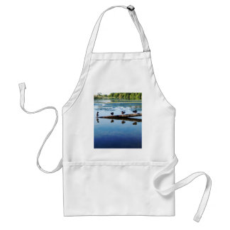 Napping Ducks Adult Apron