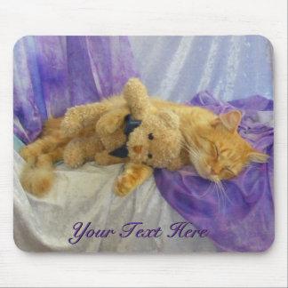 Napping Kitty Mousepad