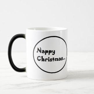 Nappy christmas coffee mug