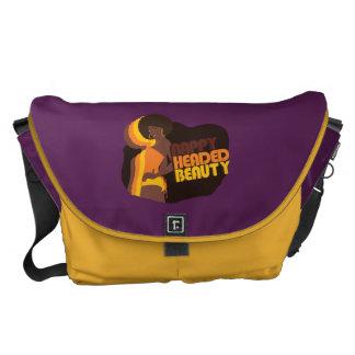 """Nappy Headed Beauty"" Large Messenger Bag"