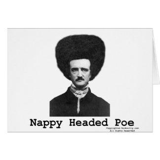 Nappy Headed Poe Greeting Card